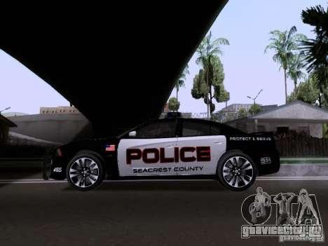 Dodge Charger SRT8 2011 V1.0 для GTA San Andreas вид слева