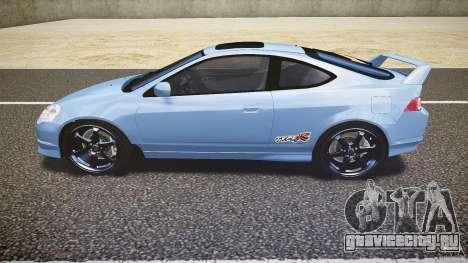 Acura RSX TypeS v1.0 Volk TE37 для GTA 4 вид слева