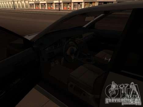 Mitsubishi Lancer Evolution 8 для GTA San Andreas вид сзади слева