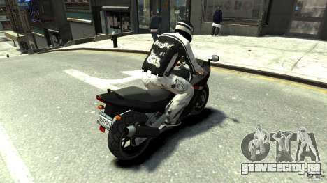 BIKER BOYZ Clothes and HELMET Version 1.1 для GTA 4