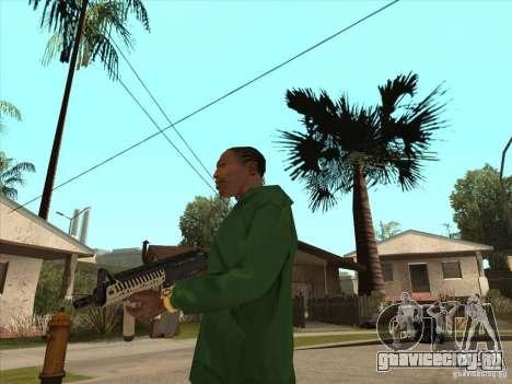 М4 из Call of Duty для GTA San Andreas третий скриншот
