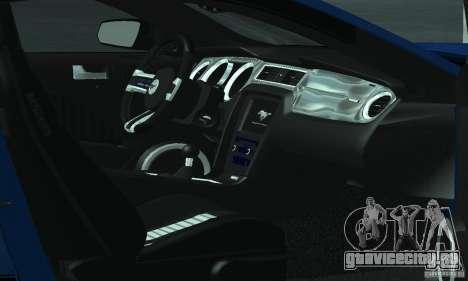 Ford Mustang Boss 302 2013 для GTA San Andreas вид сбоку