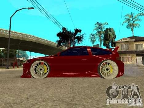 Honda CRX ED9 для GTA San Andreas вид слева