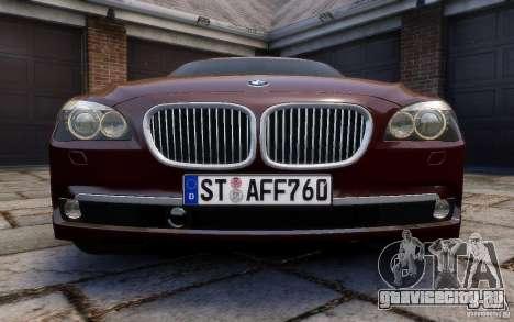 BMW 760Li 2011 для GTA 4 вид сверху