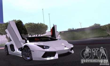 Lamborghini Aventador LP700-4 Final для GTA San Andreas вид сбоку