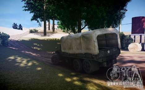 Millitary Truck из Mafia II для GTA 4 вид слева