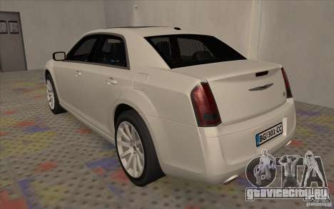 Chrysler 300C для GTA San Andreas вид справа