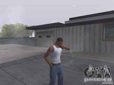 Возможность курить для GTA San Andreas