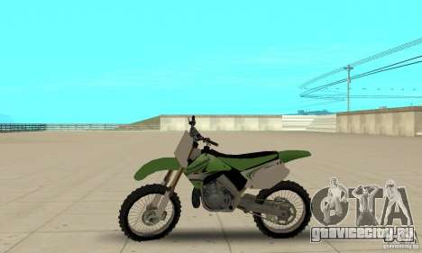 Kawasaki KX250 для GTA San Andreas