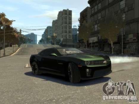 Chevrolet Camaro ZL1 v1.0 для GTA 4