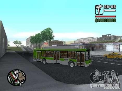 ЛиАЗ 5292.70 для GTA San Andreas вид сзади
