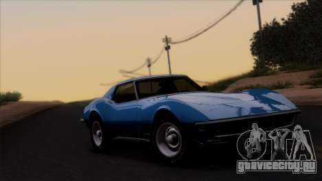 Chevrolet Corvette C3 Stingray T-Top 1969 v1.1 для GTA San Andreas
