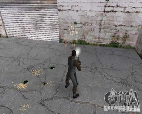 Настоящие гильзы (3D гильзы) для GTA San Andreas четвёртый скриншот