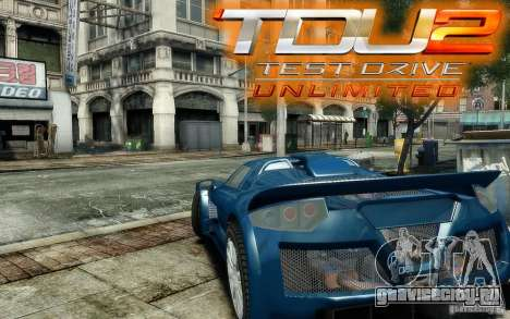 Gumpert Apollo Sport для GTA 4 вид изнутри