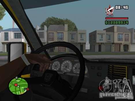 Активная приборная панель для GTA San Andreas третий скриншот