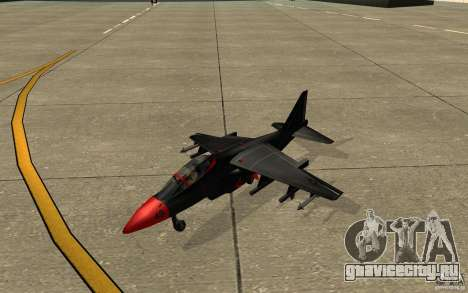 Black Hydra v2.0 для GTA San Andreas вид слева