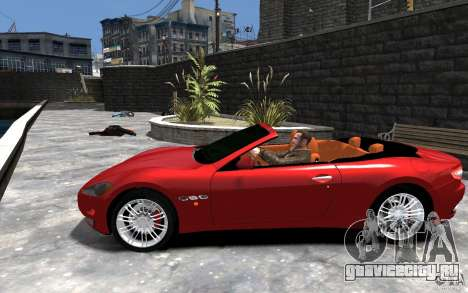 Maserati GranCabrio для GTA 4 вид слева