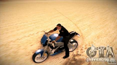 Buell Lightning 1200 для GTA San Andreas