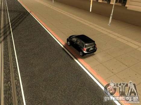 Scion xD для GTA San Andreas вид сзади