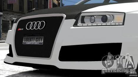 Audi RS6 Avant 2010 Carbon Edition для GTA 4
