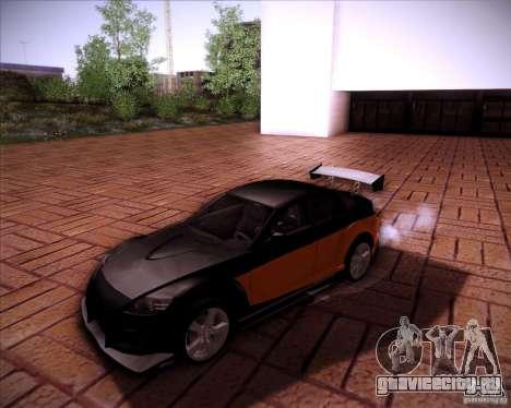 Mazda RX-8 для GTA San Andreas вид сверху