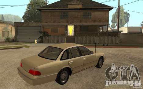 Ford Crown Victoria LX 1992 для GTA San Andreas