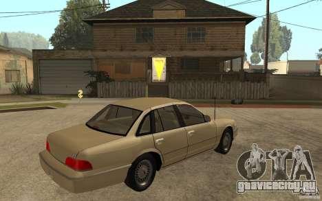 Ford Crown Victoria LX 1992 для GTA San Andreas вид справа