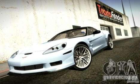 Chevrolet Corvette ZR-1 для GTA San Andreas