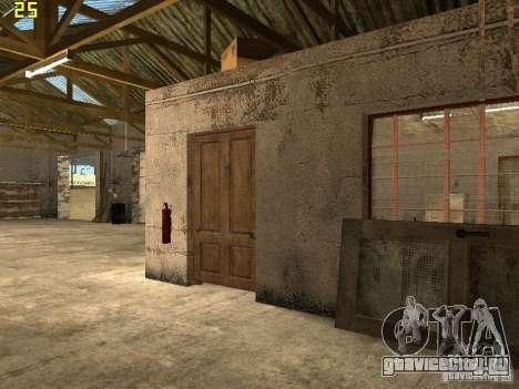 Автосервис около Grove для GTA San Andreas третий скриншот