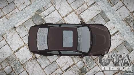 BMW M3 e46 2005 для GTA 4 вид сверху