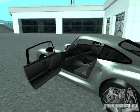 PORSHE 959 для GTA San Andreas вид сзади слева