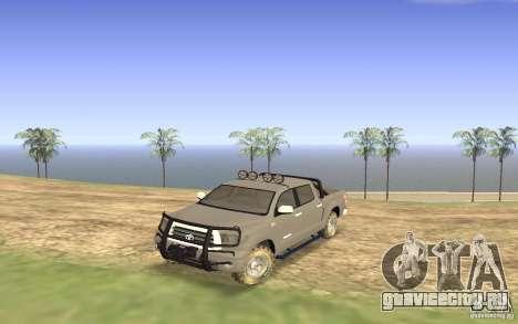 Toyota Tundra 4x4 для GTA San Andreas