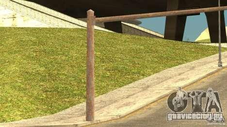 Ржавые светофоры для GTA San Andreas четвёртый скриншот