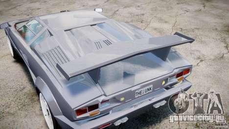 Lamborghini Countach для GTA 4 вид сбоку