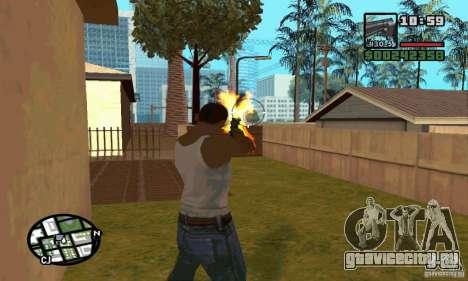 K.44 Magnum (Chrome) для GTA San Andreas четвёртый скриншот