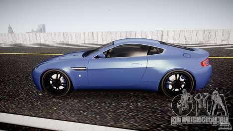 Aston Martin V8 Vantage V1.0 для GTA 4 вид слева