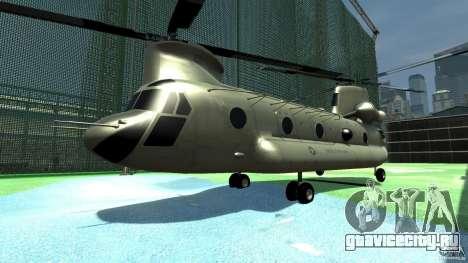 CH-47 для GTA 4 вид слева
