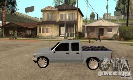 Toyota Hilux Surf v2.0 для GTA San Andreas вид слева