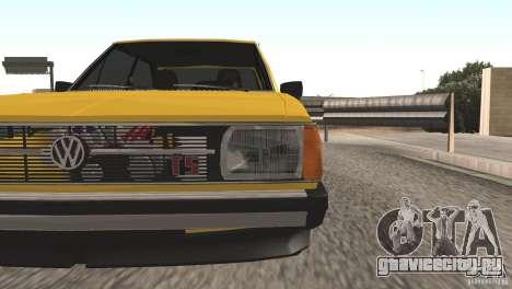 Volkswagen Passat TS 1981 Original для GTA San Andreas вид справа