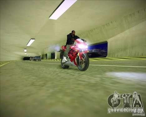 Honda CBR600RR 2005 для GTA San Andreas вид справа