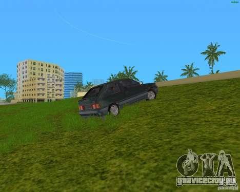 Lada Samara 3doors для GTA Vice City вид слева