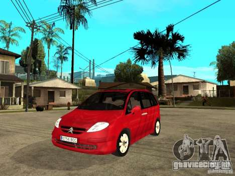 Citroen C8 для GTA San Andreas