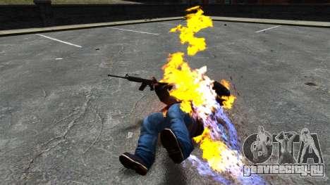 Огненные пули для GTA 4 третий скриншот