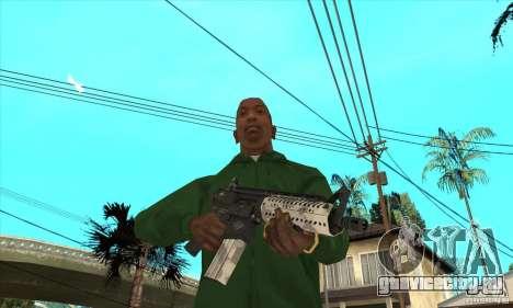 M4 без приклада для GTA San Andreas