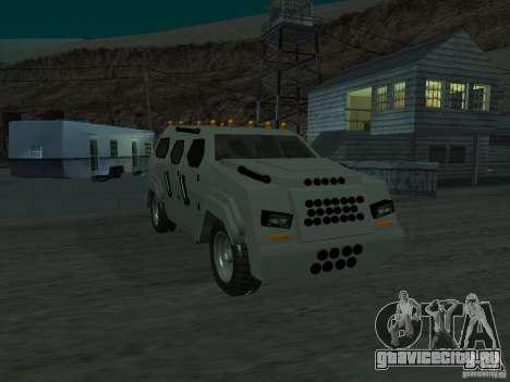 FBI Truck from Fast Five для GTA San Andreas