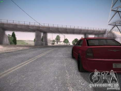 Chrysler 300C SRT8 для GTA San Andreas вид сзади
