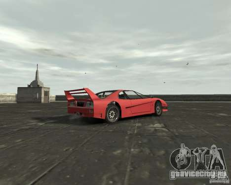 Turismo from GTA SA для GTA 4 вид справа