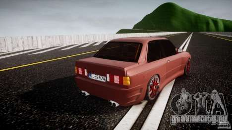 BMW E30 v8 для GTA 4 вид сбоку