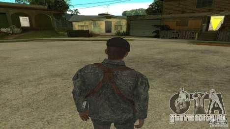 Shepard из CoD MW2 для GTA San Andreas третий скриншот