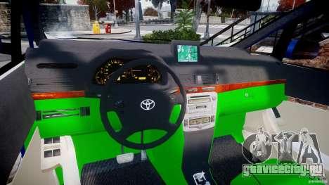 Toyota Alphard 2007 для GTA 4 вид сзади